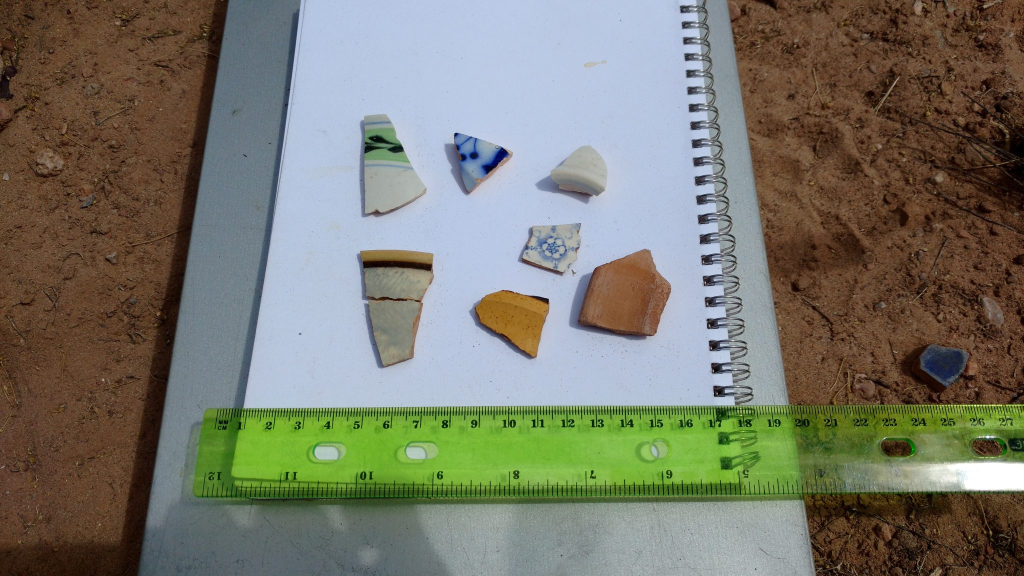 ceramic artifacts from Parida